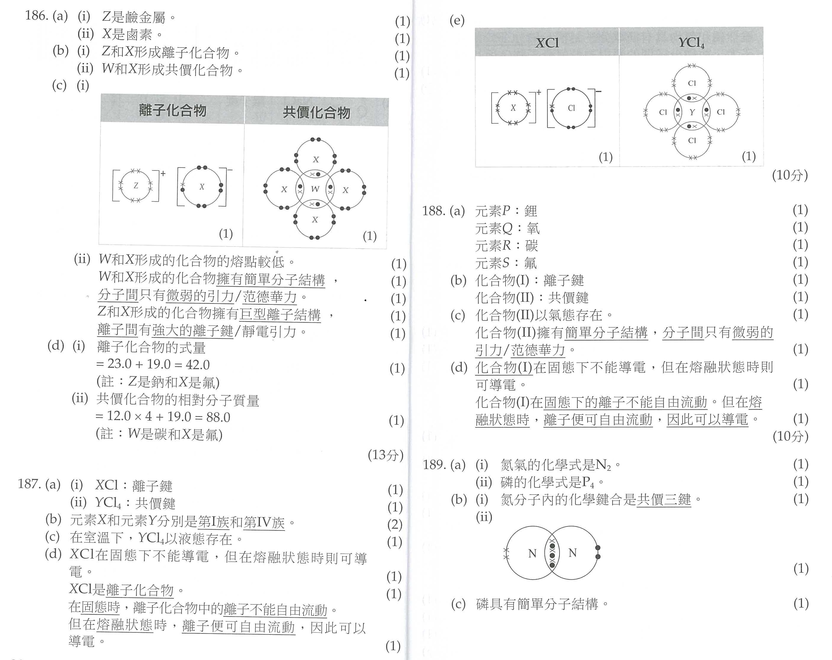 Index of lukchihangF6 ChemistryWorksheetRevision worksheet – Atomic Structure Worksheet Answers
